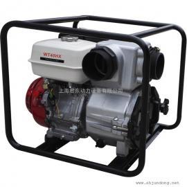4寸本田汽油污水泵| WT40HX本田泥浆泵