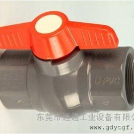 日标pvc-u手动球阀 SLG厂家直销 台湾梳杰波制