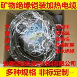 铠装电伴热带,防爆加热电缆,高温发热带防水电热带220VMI