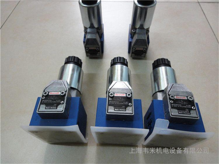 力士乐定向阀座电磁阀驱动m-3sew10c1x/420mg24n9k4图片