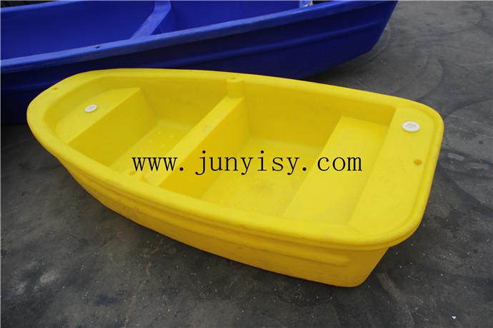河南3.6米塑料�B殖船 �L塑�p�铀芰洗� 2.5米塑料船