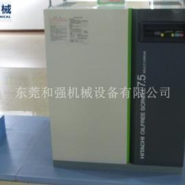 日立2.2KW空压机 SRL-2.2MB5C 日立无油空压机 日立压缩机