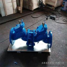 防污隔断阀HS41X-10铸铁球墨铸铁法兰连接阻止介质倒流