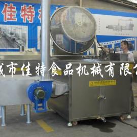 福建春卷油炸机,燃煤自动控温油炸机