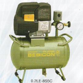 日立小型无油空气压缩机0.2LE-8S5C