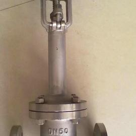 DZ41W-40P气体高温闸阀、白口铁纵贯阀