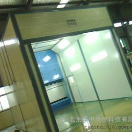 无泵水幕喷漆室