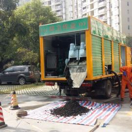 重大创新!!粪便处理量达1000吨/天的移动污水处理车面市
