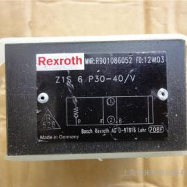 REXROTH叠加式单向阀Z1S6P30-40/V