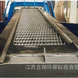 专业定制 加工不锈钢回转式固液分离机,回转式格栅除污机