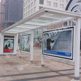 珠海乳白款公交候车亭是哪一个候车亭厂家生产制作的?