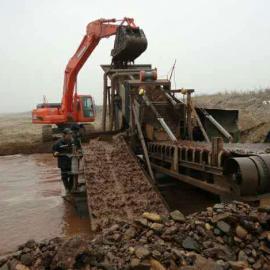 大型挖沙船式设备全球服务