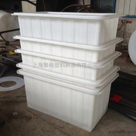 500L塑料方桶|1立方水产方箱|0.3立方PE方桶