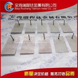离子水机用铂金钛阳极,消毒水机铂钛合金电极