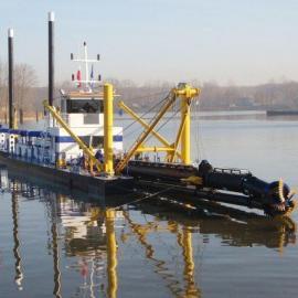 俄罗斯绞吸船 出口绞吸 久保田 设备 绞吸船