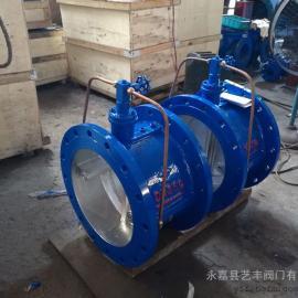 专业生产铸铁碳钢HH46X微阻缓闭蝶式止回阀