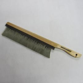 防静电毛刷,直柄大号毛刷,羊毛除静电刷