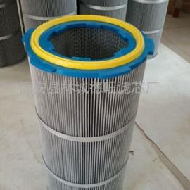 325*900防静电除尘滤筒 覆膜防静电滤芯