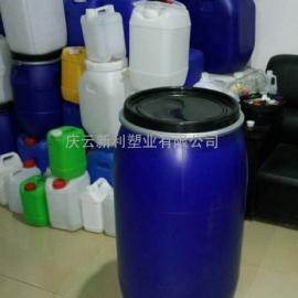 新利150公斤塑胶桶,150升塑胶桶,150L蓝色胶桶