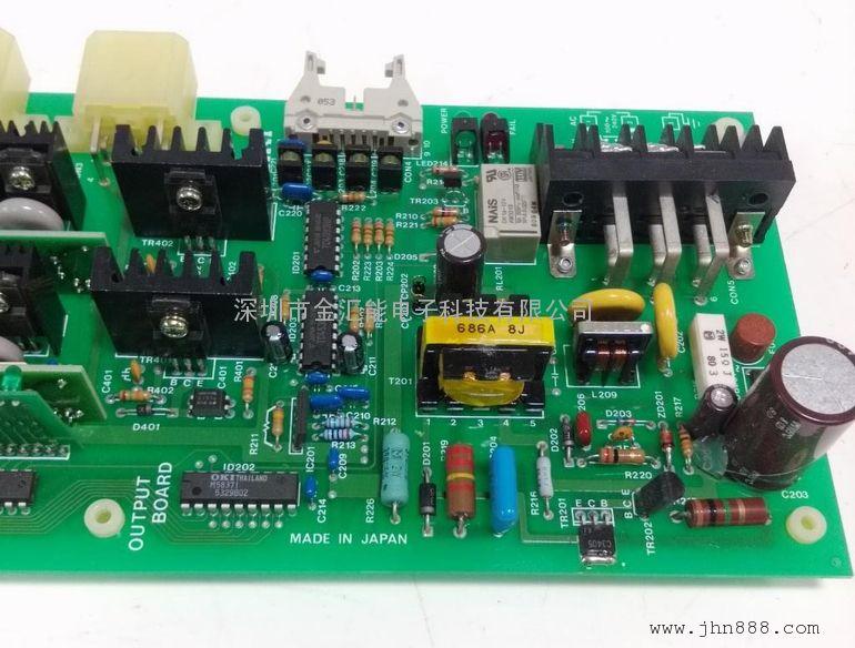 meiki控制输出电路板维修m-341tp-发那科板维修-温度