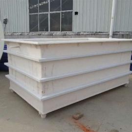 专业耐酸碱PP磷化酸洗槽PVC电镀槽PP电解槽
