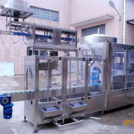 五加仑桶装水在线洗盖机 清洗消毒洗盖机 纯净桶装配套设备