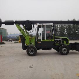 旋挖钻机施工视频 地基钻桩旋挖钻 螺旋打桩机