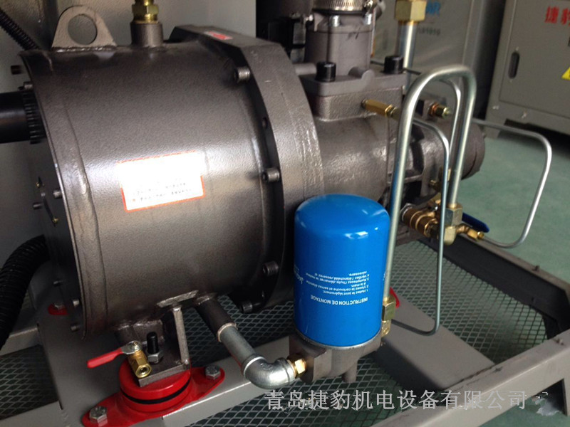 台湾捷豹永磁变频空压机大排量低噪音节能省电