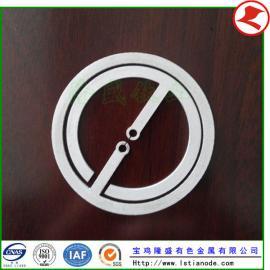 厂家供应铂金钛阳极,铂金钛电极网,铂金钛阳极板