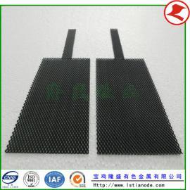 厂家供应铱钽钛阳极板,铱钽钛阳极网