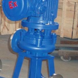 32LWP12-15-1.1防爆型不锈钢直立式排污泵