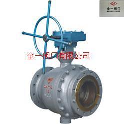 不锈钢蜗轮固定式球阀Q347F-16P