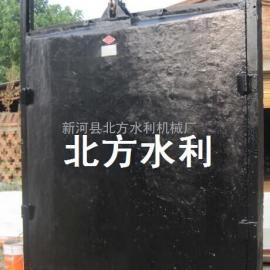 1.8*1.8米铸铁镶铜方闸门