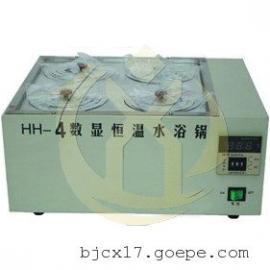 HH-S4A电热恒温水浴锅说明书,供应双列四孔超级恒温浴槽