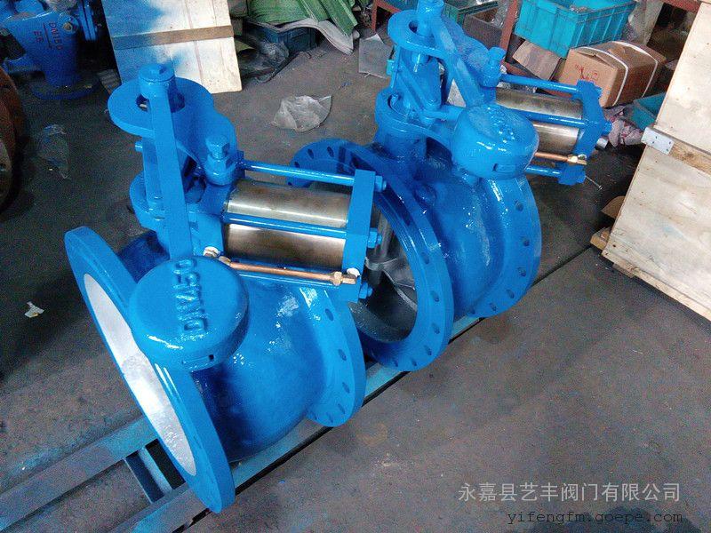 铸钢大口径HH47X-10C 缓冲止回阀