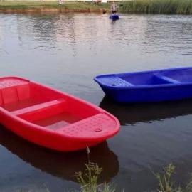 厂家直销滚塑一次成型PE塑料渔船十博体育观光渔船河道清理船