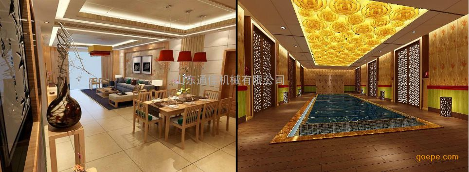 木塑酒店装修效果图
