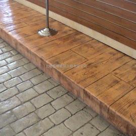 岳阳仿彩砖压模地坪 汨罗鹅卵石地坪铺装 君山艺术地坪价格