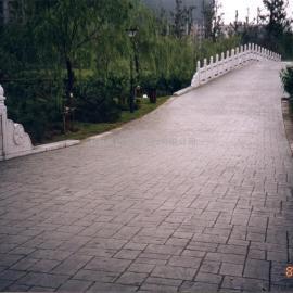 十堰彩色混凝土压模地坪|房县压花水泥路面|竹溪仿大理石路面
