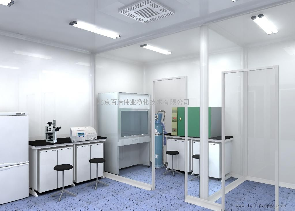 南阳微生物实验室 主要控制有生命微粒(细菌)与无生命微粒(尘埃)对工作对象的污染。又可分为; A、 一般生物洁净 室:主要控制微生物(细菌)对象的污染。同时其内部材料要能经受各种灭菌剂侵蚀,内部一般保证正压。实质上其 内部材料要能经受各种灭菌处理的工业洁净室。例:制药工业、医院(手术室、无菌病房)食品、化妆品、饮料产品 生产、动物实验室、理化检验室、血站等。 B、 生物学安全洁净室:主要控制工作对象的有生命微粒对外界和人的污 染。内部要保持与大气的负压。例:细菌学、生物学、洁净实验室、物物工程(重组基因、