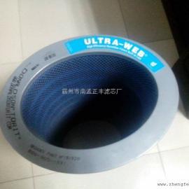 聚酯覆膜无纺布除尘滤芯可水洗除尘滤筒