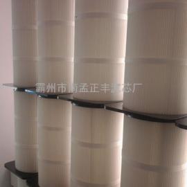 阻燃滤芯耐高温除尘滤芯特氟龙覆膜除尘滤芯