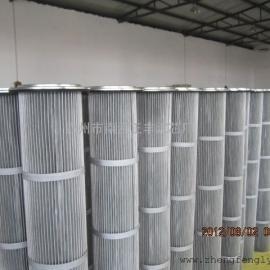 电厂专用耐高温除尘滤芯,覆膜滤筒K3266