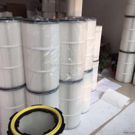 静电喷塑车间设备除尘滤芯滤筒粉体粉尘粉末回收滤芯