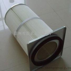 3275 3290聚酯纤维滤筒覆膜处理防静电除尘滤芯
