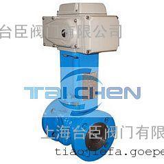 电动O型高温切断球阀,上海台臣阀门有限公司