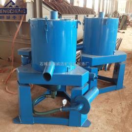 STLB水套式离心机用于沙金岩金矿效果好