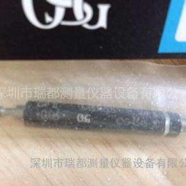 现货销售日本原装OSG螺纹塞规M3x0.5通止规