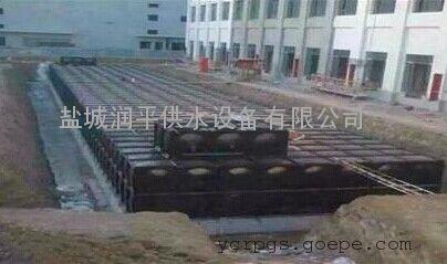 供应南宁BDF地埋水箱 南京环亚电机长轴深井泵 润平制造