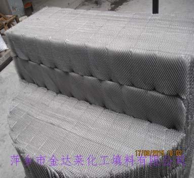 不锈钢丝网波纹填料 金属丝网波纹填料价格